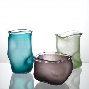 Glasvaser fra Glaspusteriet Lofstad